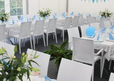 Party telt med gulv