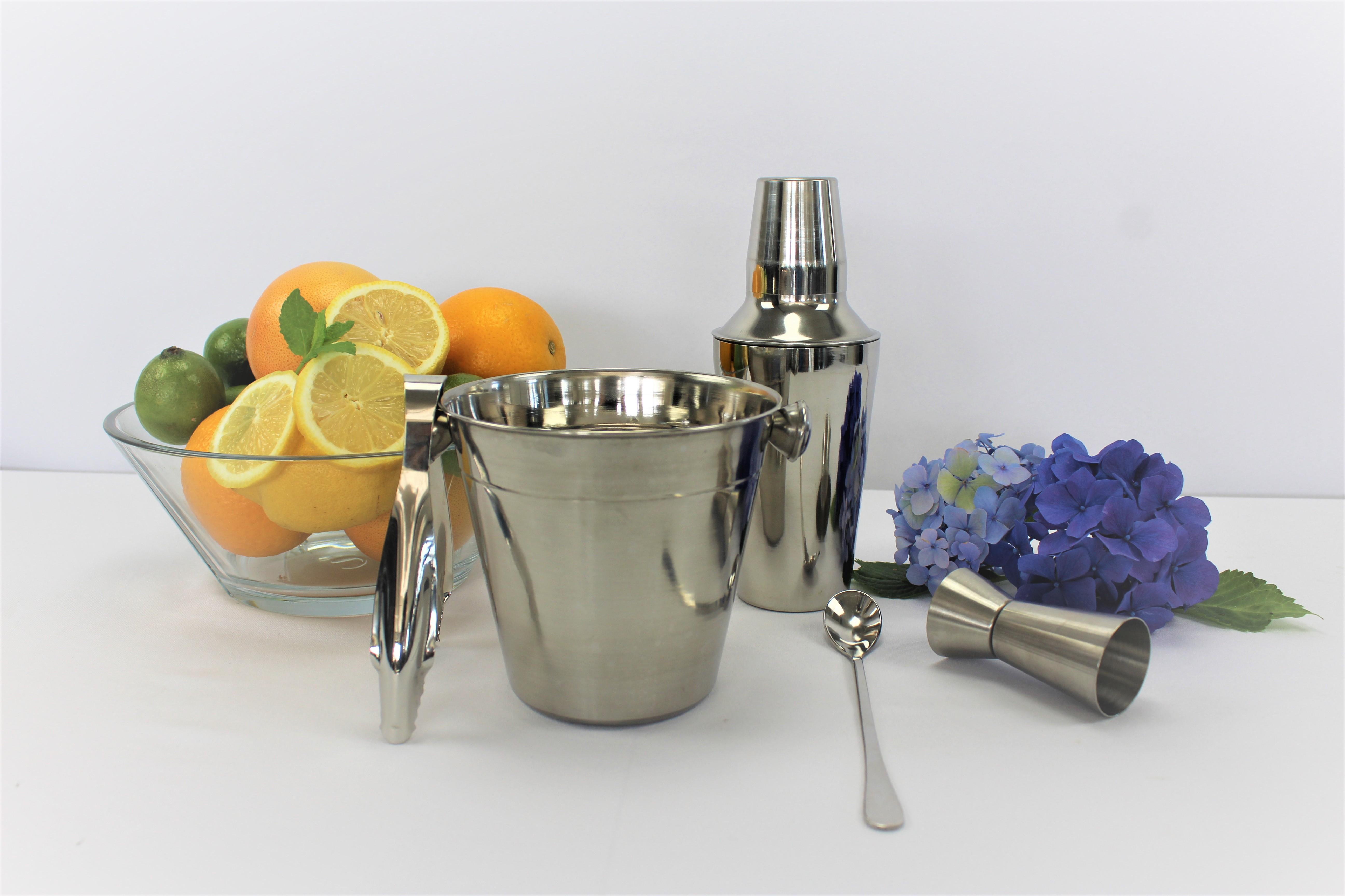 Barsæt shaker + isspand