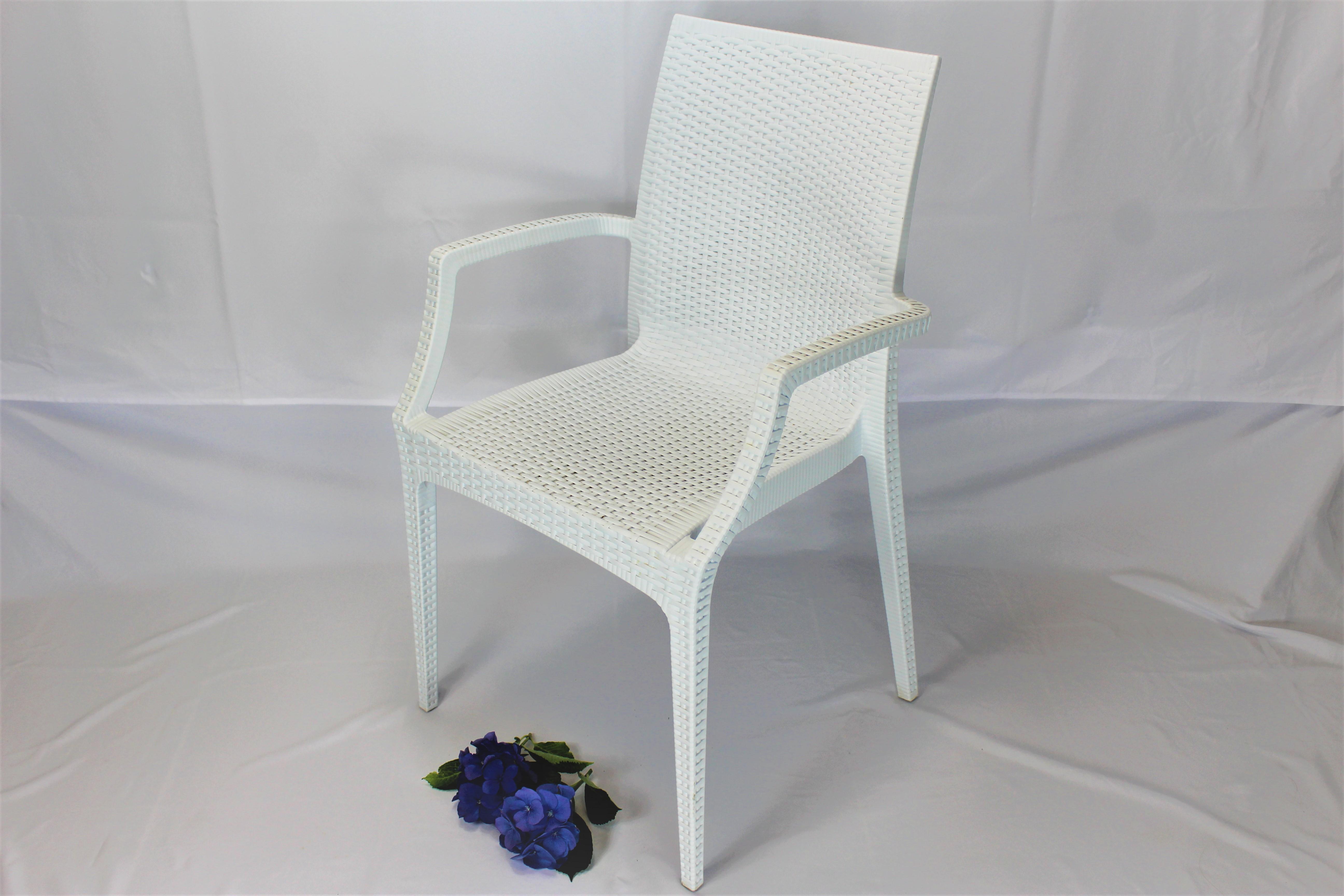 Hvid bistro stol2